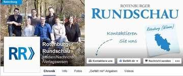 Rotenburger Rundschau jetzt auch bei Facebook