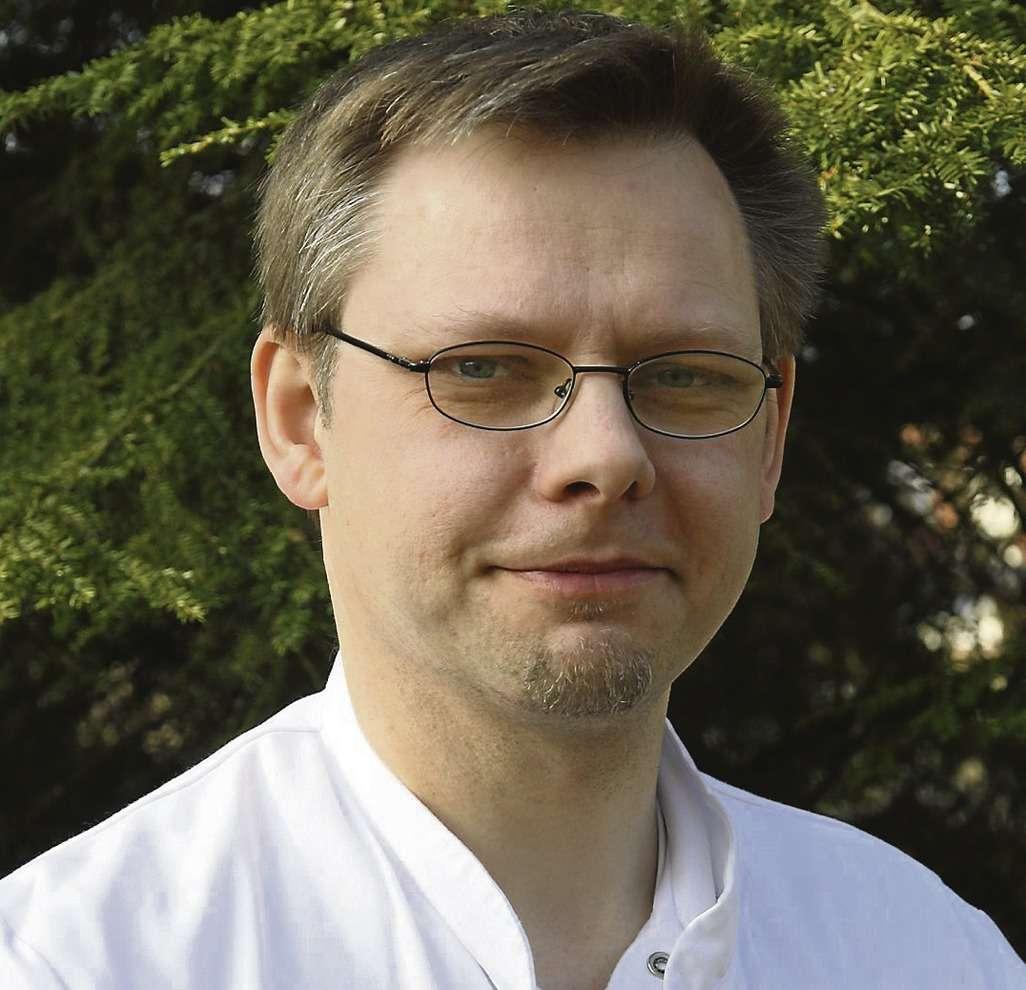 Lars Sieske, stellvertretender Ärztlicher Leiter des Zentrums für Notfallmedizin im Agaplesion Diakonieklinikum Rotenburg