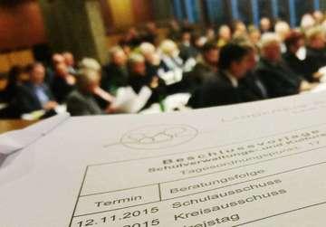Landrat Hermann Luttmann will Zahl der Sitzungen reduzieren