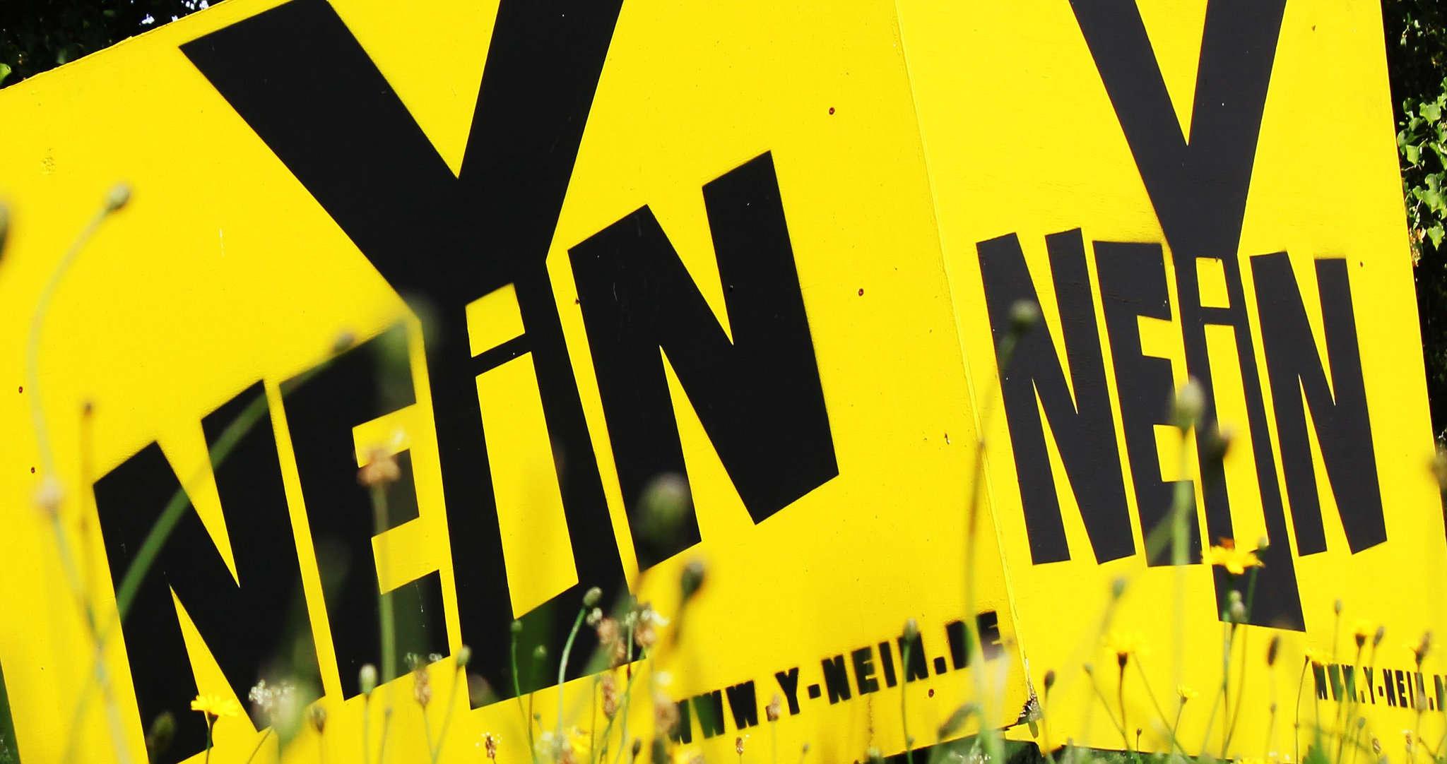 Der jahrelange Protest gegen die Y-Trasse hat sein Ziel erreicht, das Land Niedersachsen entfernte das umstrittene Projekt aus dem Landesraumordnungsprogramm. Foto: Nina Baucke