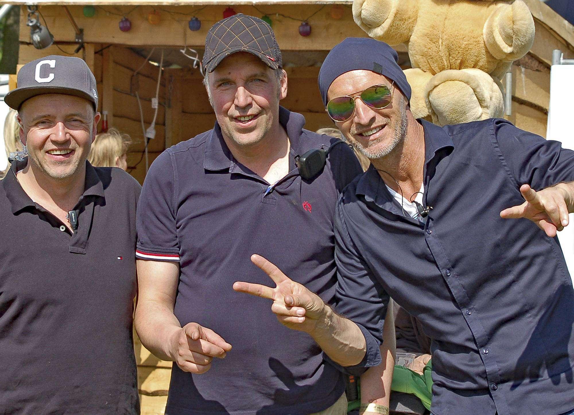 Christoph Altmann (von links), Michael Lühmann und
