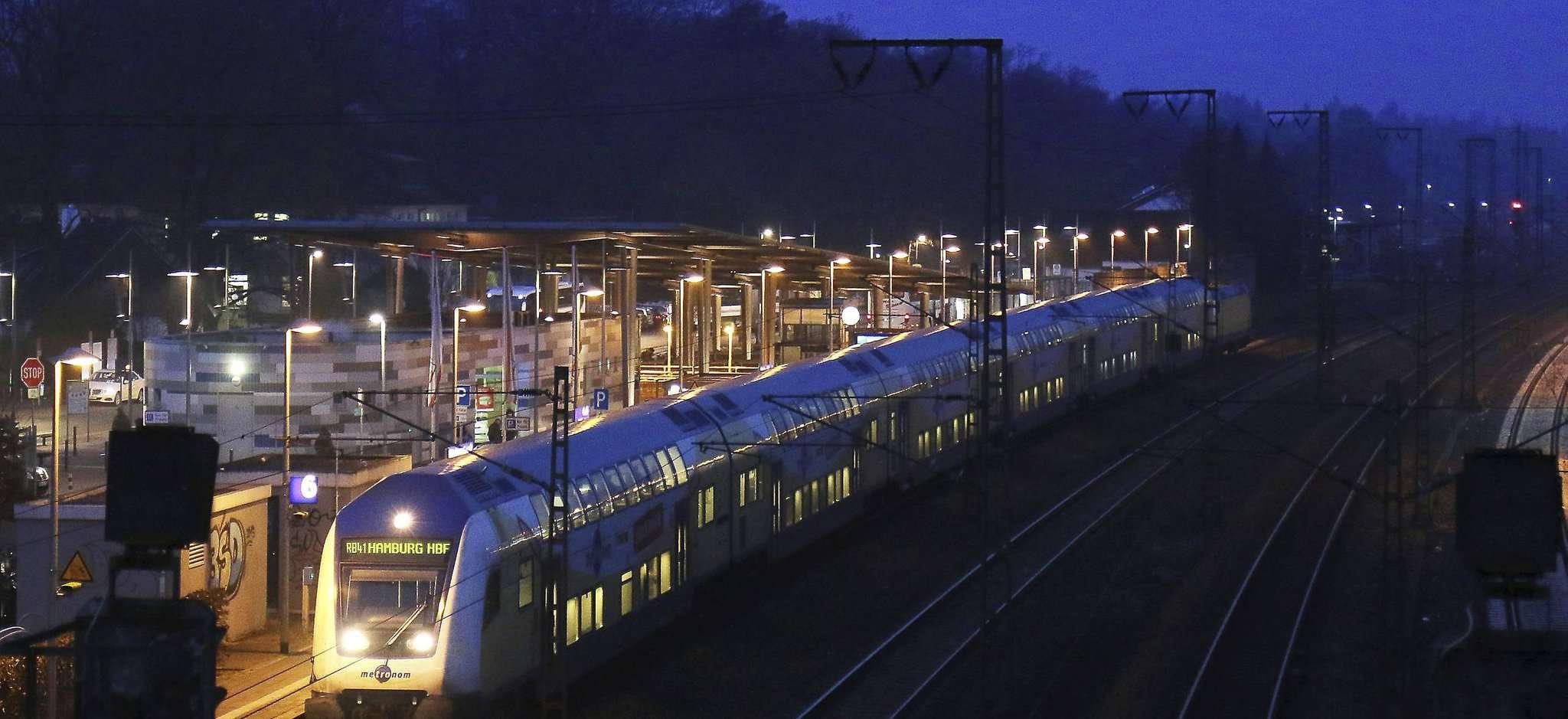 Der Bahnhof in Rotenburg würde bei einer Zustimmung zu dem vorliegenden Modell zu den Ringen G und H gehören. Archivfoto: Dennis Bartz