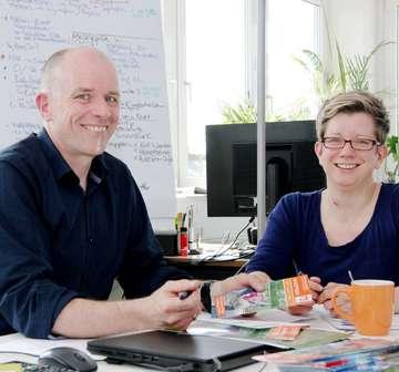 Tourow plant Radwegeprojekt  Neuer NordpfadeProspekt auf Niederländisch  Von Nina Baucke