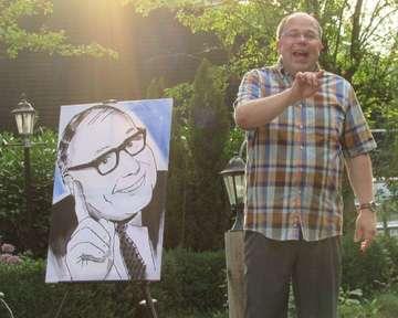 Andreas Neumann punktet mit KabarettNummer in Haberloh