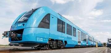WasserstoffZüge starten im öffentlichen Linienverkehr