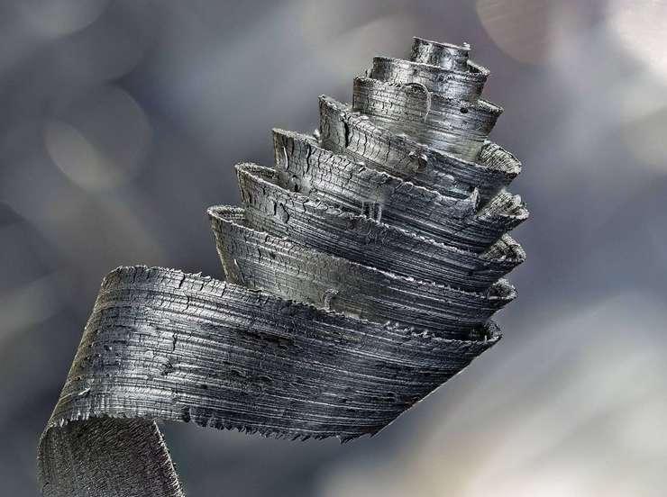Metallischer Hingucker