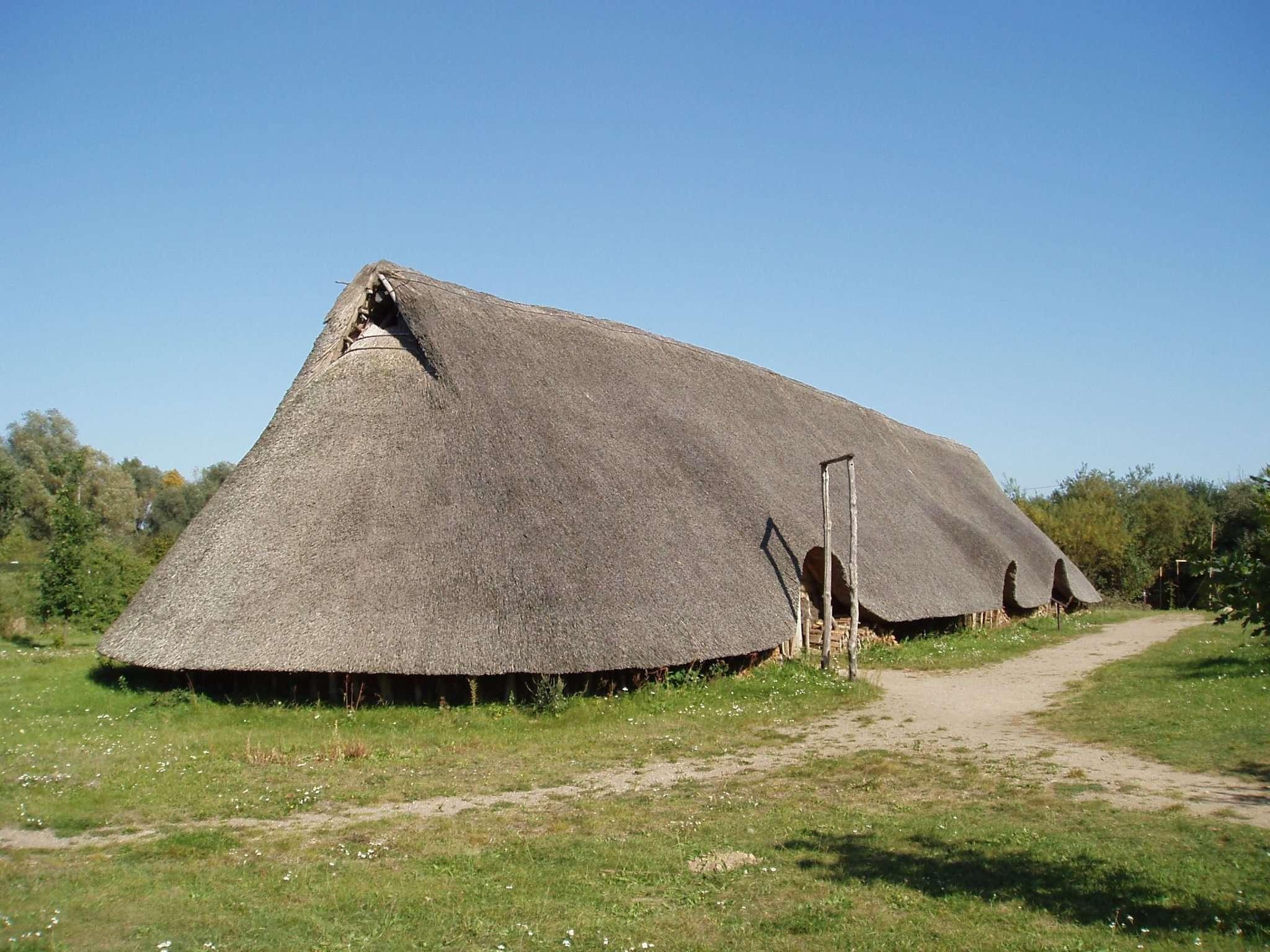 Das Leben in der Bronzezeit wird anschaulich im Freilichtmuseum Hitzacker vermittelt.