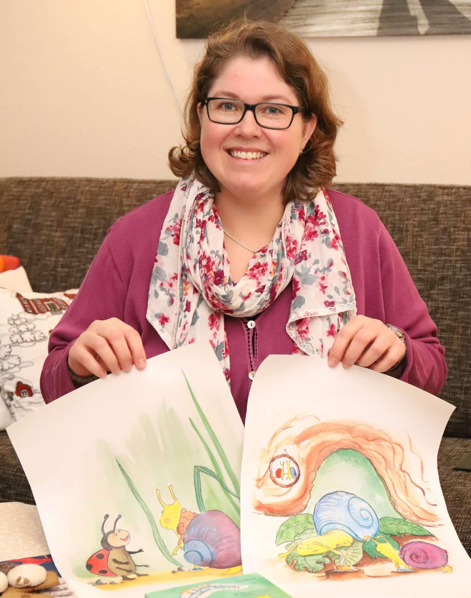 Nina Pfeiffer widmet sich in ihrem Kinderbuch einem schwierigen Thema: an Depression erkrankten Eltern.