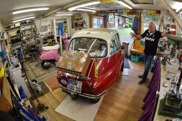 Wolfgang und Traute Dreier aus Schwitschen sind der BMW Isetta verfallen  VON GUIDO MENKER