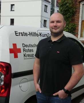 Rettungssanitäter Steven Mahler über den Internationalen Tag der Ersten Hilfe  VON NINA BAUCKE