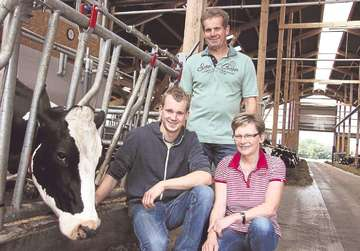 Familie Scheele gewährt am Sonntag einen Blick in den Stall