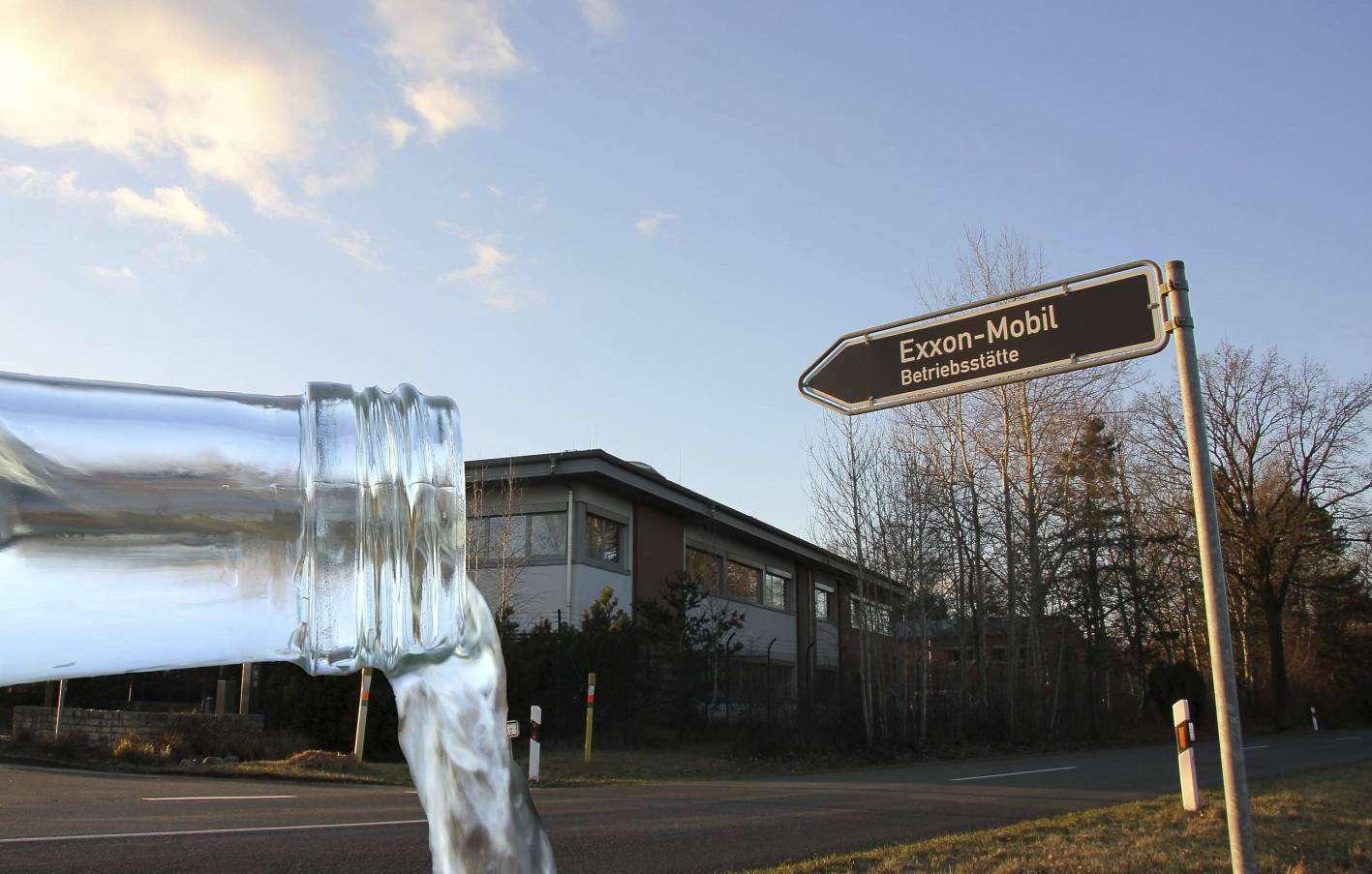 Das Exxon-Mobil-Betriebsgelände in Bellen: Der Erdgaskonzern plant, die Verunreinigungen im Grundwasser so schnell wie möglich zu beseitigen. Foto: Nina Baucke