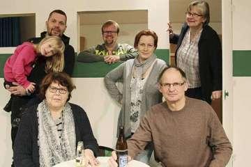 Theatergruppe Hemsbünde probt für Premiere am 11 März  Von Nina Baucke