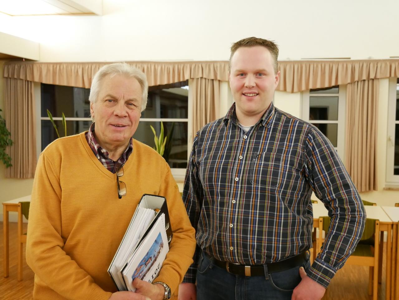 Heinz Meyer und Michael Meyer-Dierks. Foto: Karen Bennecke