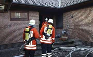 Haus nach Brand unbewohnbar