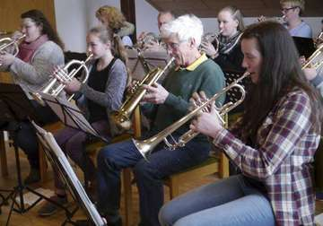 Workshop beim Musikzug Bothel