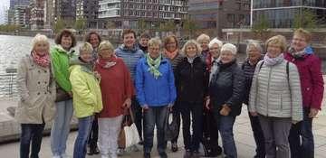 Hemslinger Landfrauen erkunden Hamburger Hafencity