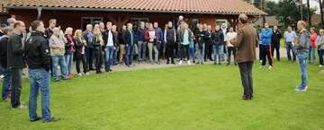 Dankesfeier für die Helfer des West HamAufenthalts in Bothel  Von Henning Leeske