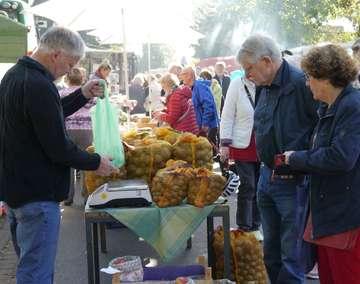 20 Brockeler Bauernmarkt punktet mit viel Sonnenschein  Von Janila Dierks