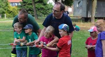 Kinder der Botheler Feldmäuse feiern Abschied aus dem Kindergarten