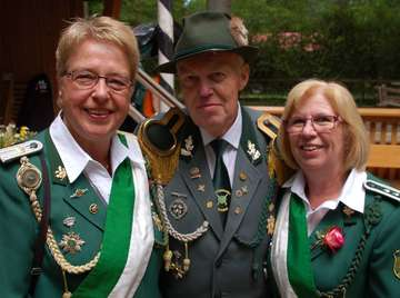 Peter Gudd ist König in Brockel