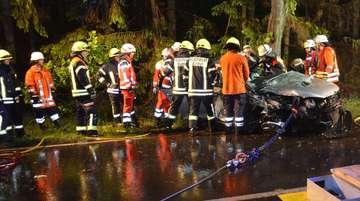 Unfall auf der Bundesstraße 71