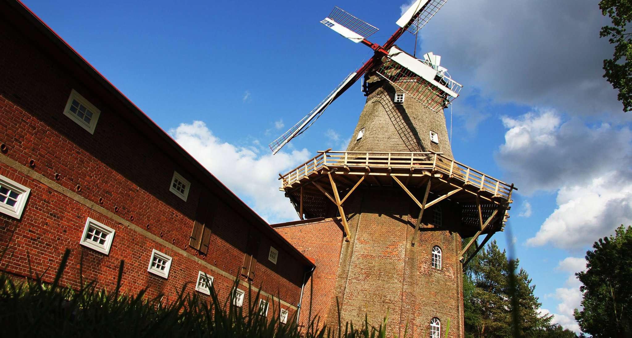 Die Brockeler Mühle steht am Pfingstmontag allen Besuchern offen. Archivfoto: Nina Baucke