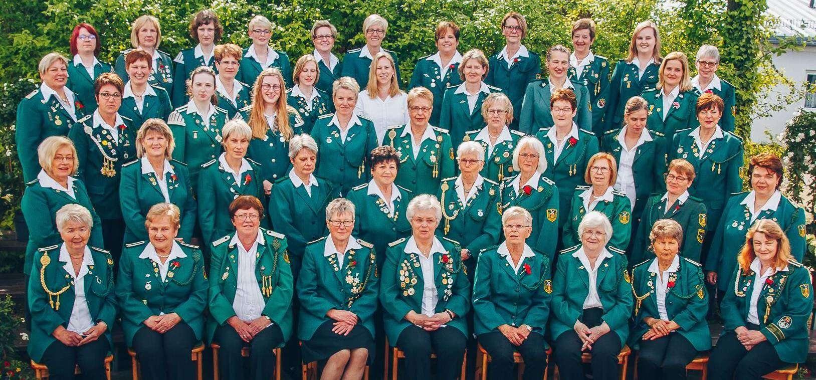 Die Brockeler Damenriege feiert in der kommenden Woche ihr 50-jähriges Bestehen mit einer Jubiläumsveranstaltung und Schießwettbewerben.