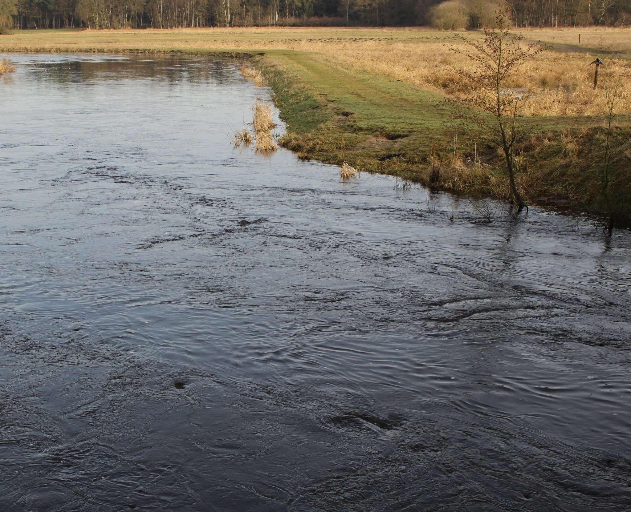 Die Wümme bei Ahausen: Die Kosten für die Pflege des Gewässers sind gestiegen. Foto: Henning Leeske