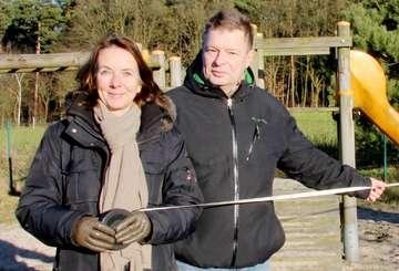 Carolin Muschter und Heinz Vogel ziehen sich aus Räten zurück