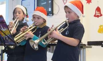 Konzert und Lichtermorgen in Grundschule Hemslingen