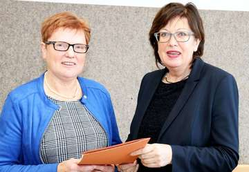 Annemarie Dollinger verabschiedet sich aus dem Schuldienst  Von Nina Baucke
