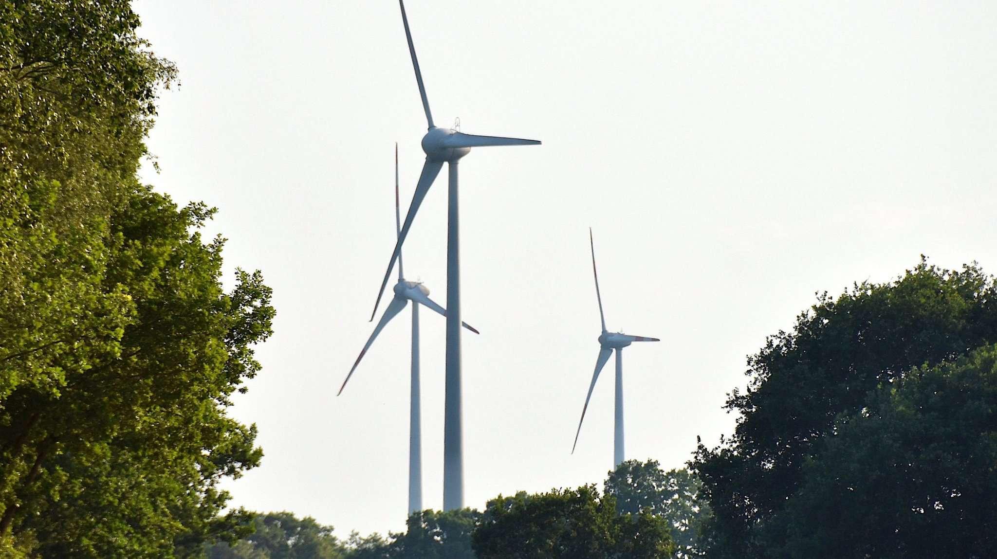Schon jetzt prägen Windräder hier und da die Landschaft des Landkreises u2013 auch in Brockel werden noch einige Windräder hinzu kommen. Foto: Judith Tausendfreund