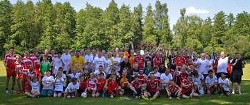 Drittes Straßenfußballturnier in Fintel am 2 Juni