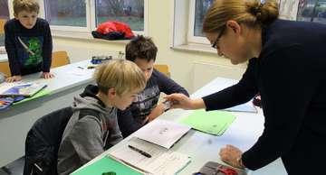 Offener Unterricht in der Fintauschule Lauenbrück