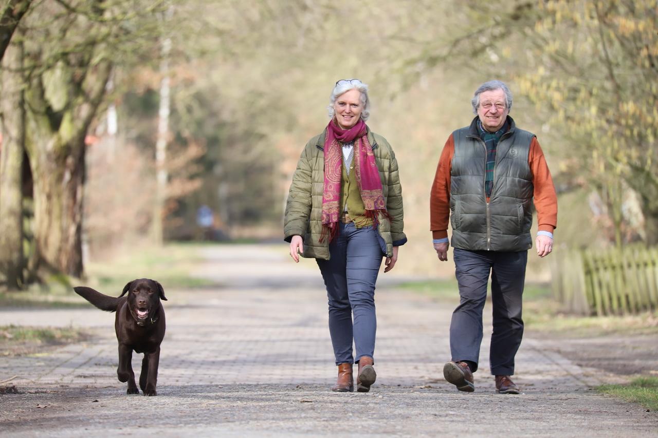 Katharine und Friedrich-Michael von Schiller wollen ihren Park so bald wie möglich für Besucher öffnen.