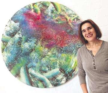Ulrike Doni� zeigt ihre Werke im Rotenburger Kunstturm  Von Nina Baucke
