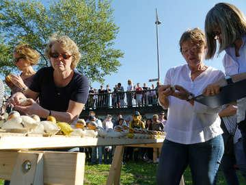 Rotary Club veranstaltet 17 Entenrennen in den Nödenwiesen  Von Janila Dierks