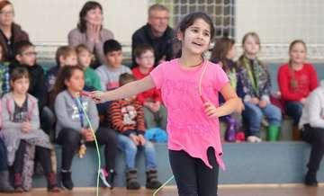 Präventionsprojekt Skipping Hearts an der Stadtschule