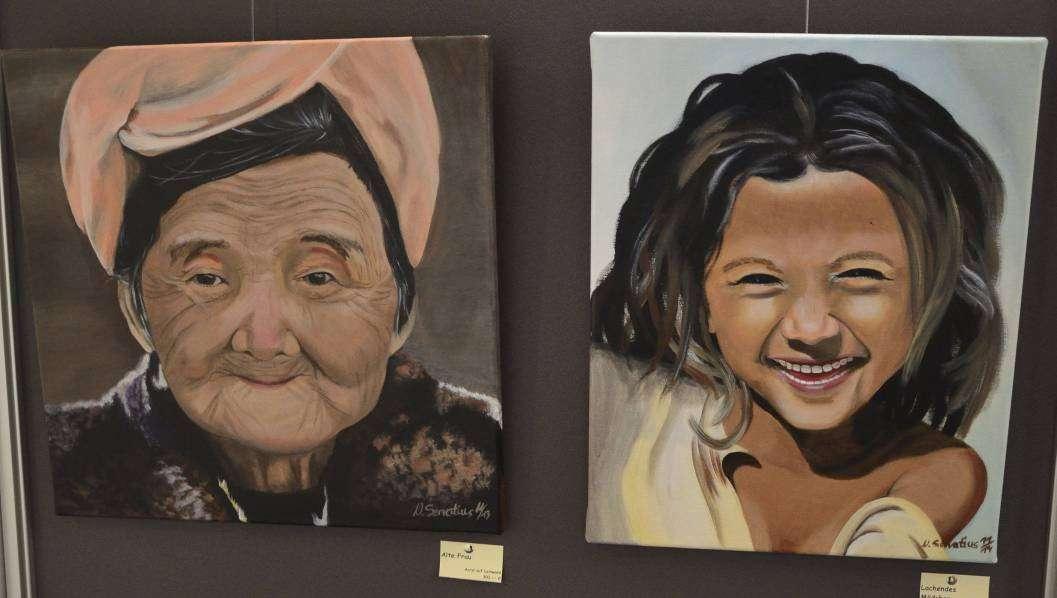 Porträts liegen Servatius besonders. Sie verleiht den Bilder Lebendigkeit.