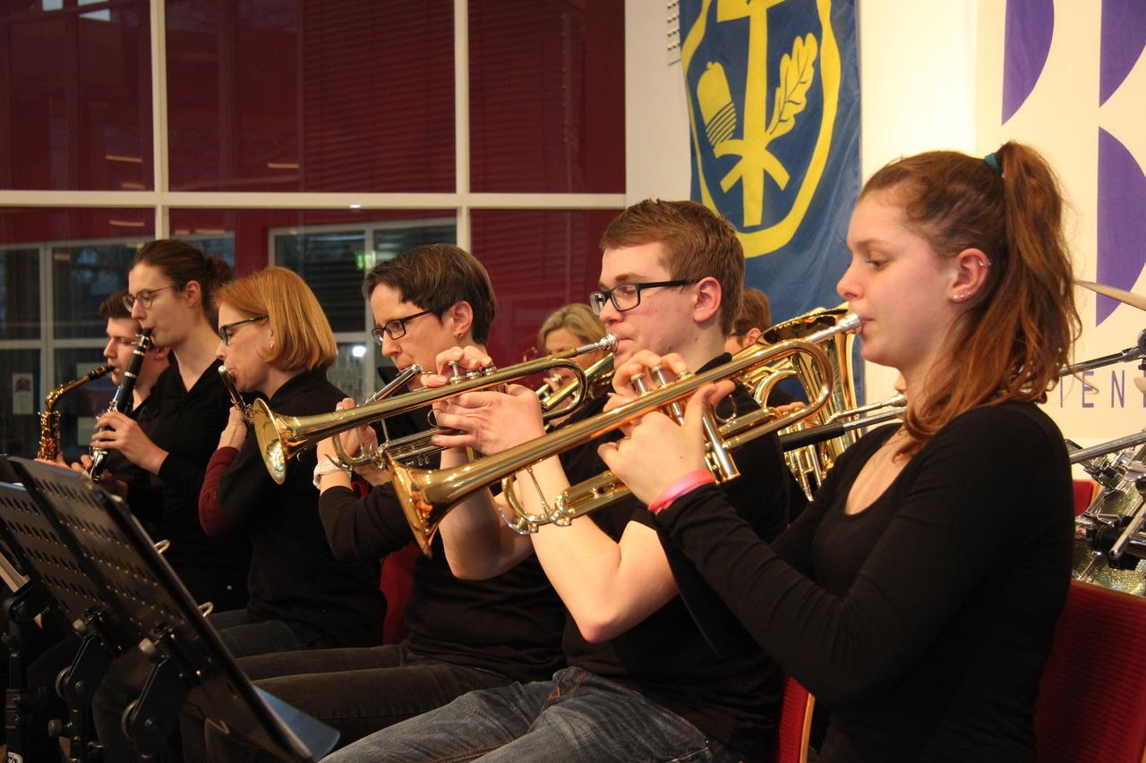 Die Akkord-Fabrik aus Rotenburg sorgte für die Musik. Fotos: Nina Baucke
