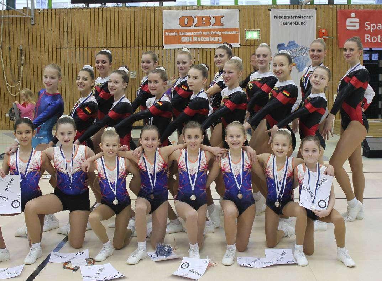 Einen erfolgreichen ersten Wettkampf des Jahres zeigten die Sportlerinnen des TuS Rotenburg.