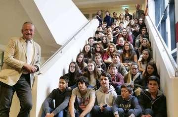 Stadt Rotenburg empfängt Gastschüler aus Frankreich