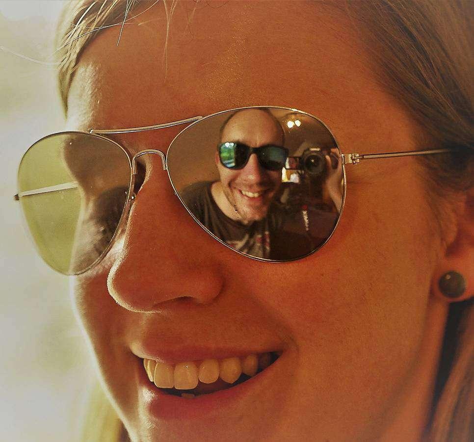 Lena Gehring ist die Gewinnerin des Rundschau-Fotowettbewerbs im Juni u2013 mit einem etwas anderen Selfie.