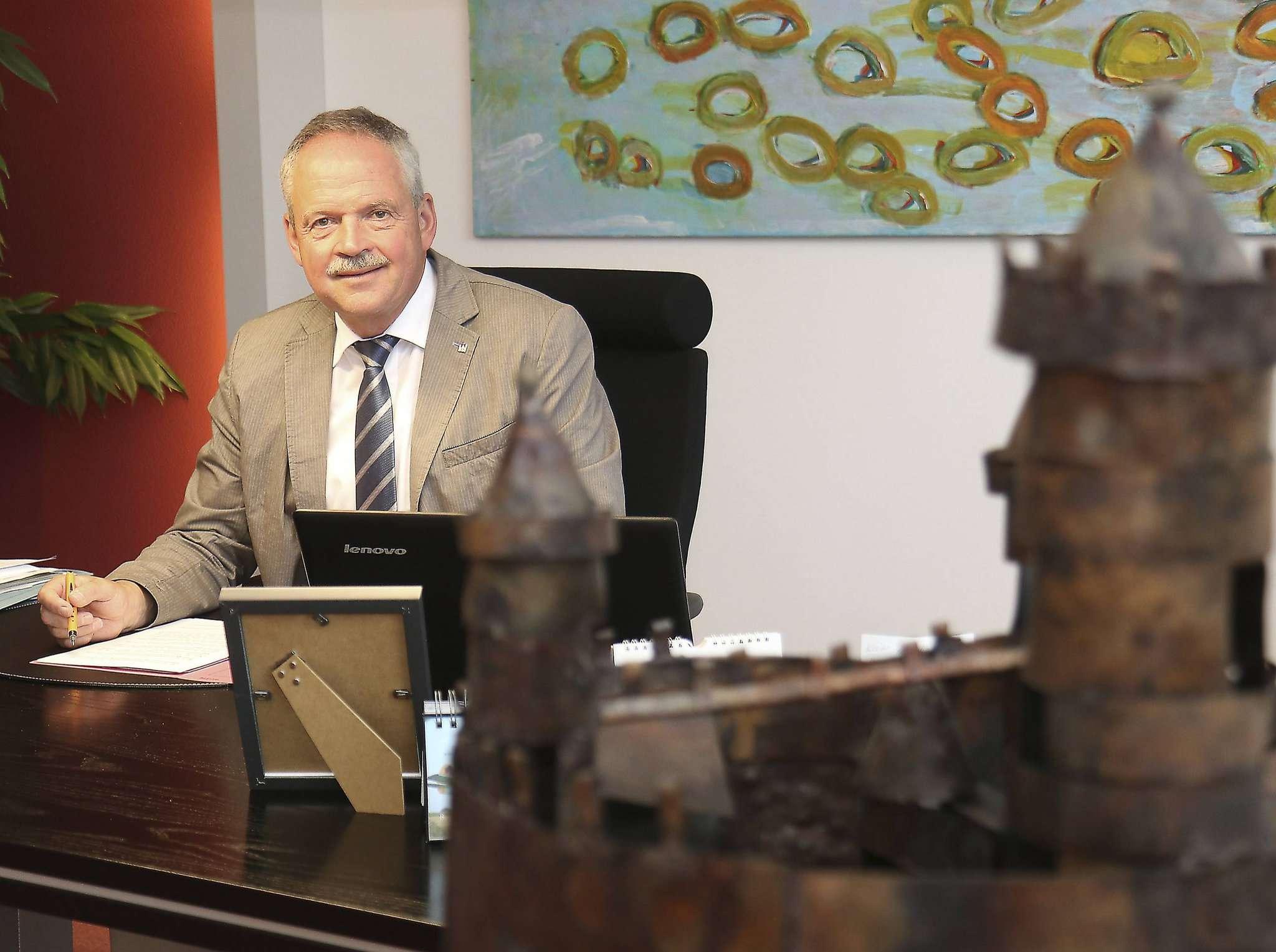 Bürgermeister Andreas Weber wünscht sich faire Diskussionen.
