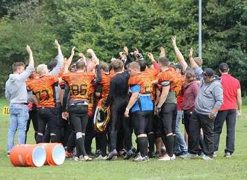 Rotenburger Footballer siegen mit 466 gegen die Benefeld Black Sharks