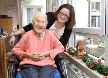 Redakteurin AnnChristin Beims arbeitet als Altenpflegerin  Von AnnChristin Beims
