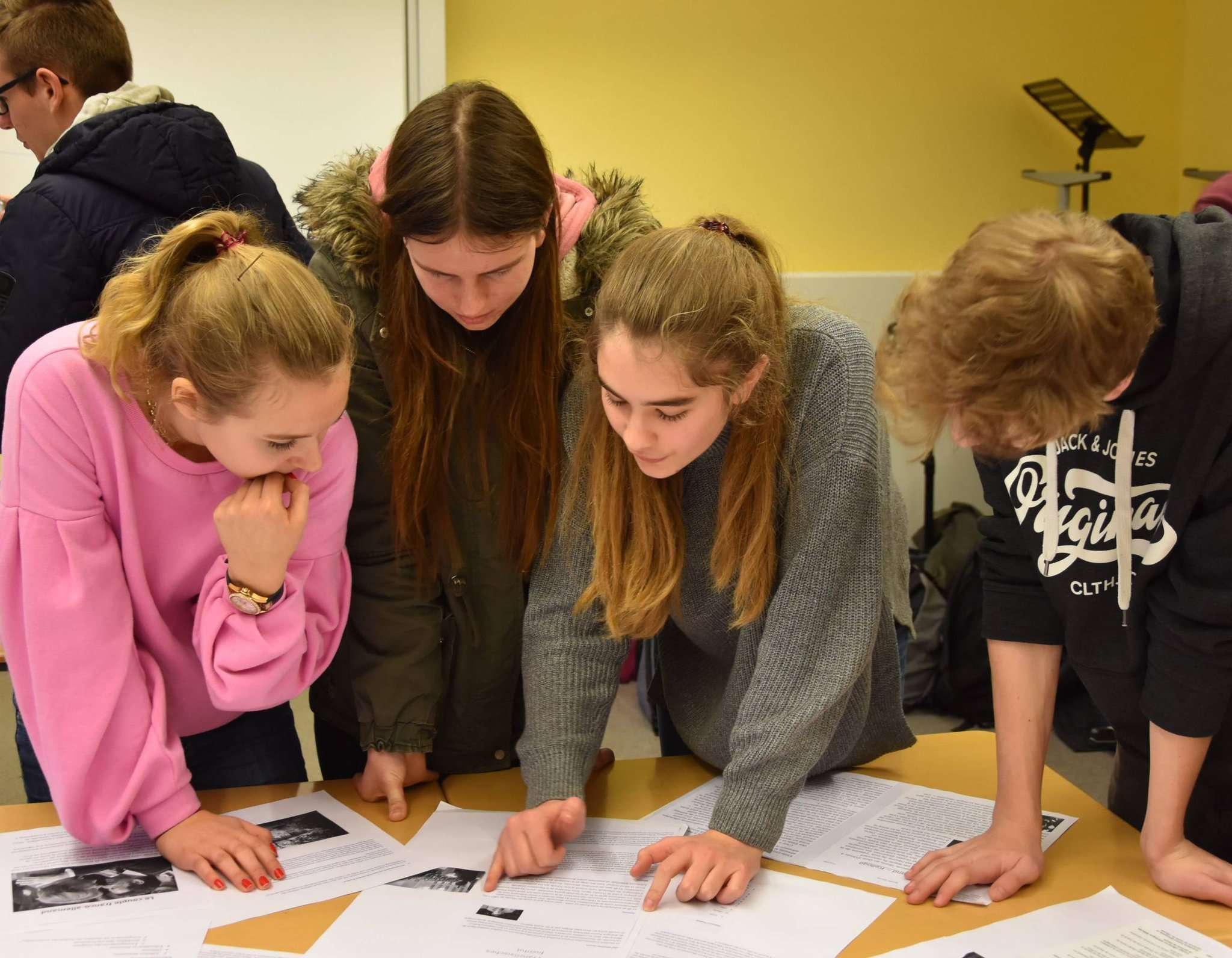 Die deutschen und französischen Schüler haben zwei Wochen Zeit, neue Freundschaften zu knüpfen.