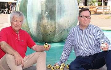 Wettscheine für das Entenrennen ab sofort im Verkauf  Von Dennis Bartz