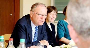 Stephan Weil besucht als SPDLandesvorsitzender Rotenburg